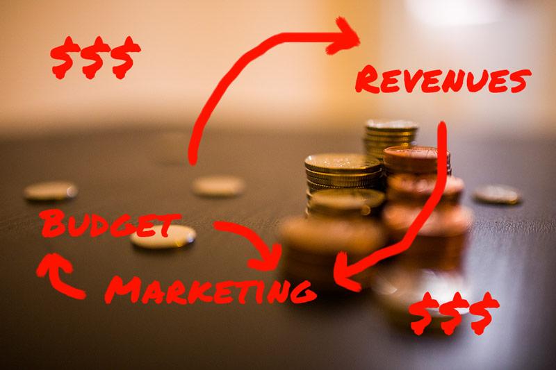 marketing before revenues
